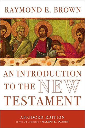 Intro to the New Testament - R Brown