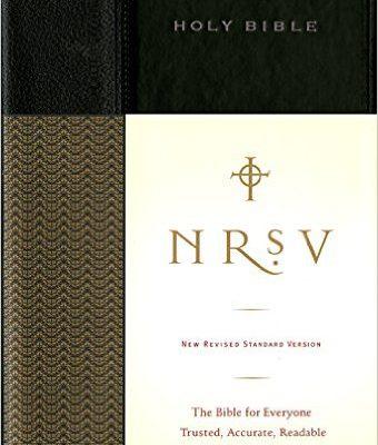NRSV Bible - Hardcover